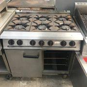 Falcon Six burner gas oven
