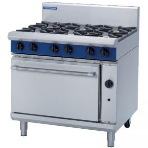 Blue Seal Propane Gas 6 Burner