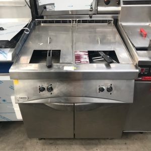 Zanussi Twin Tank Gas Fryer