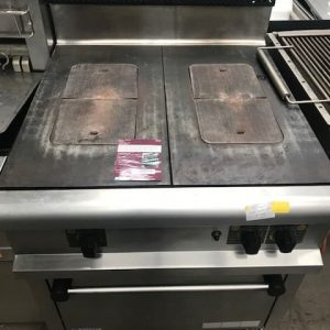 Bonnet Double Gas Solid Top with Oven