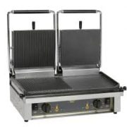 Roller Grill Double ribbed Contact Grill