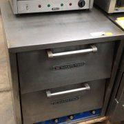 Bakers pride 4 Deck pizza oven with 4 shelves  2 doors