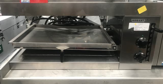 Hobart Salamander grill