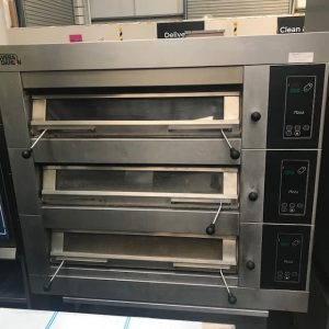 Sveba Dahlen 3 deck Pizza Oven