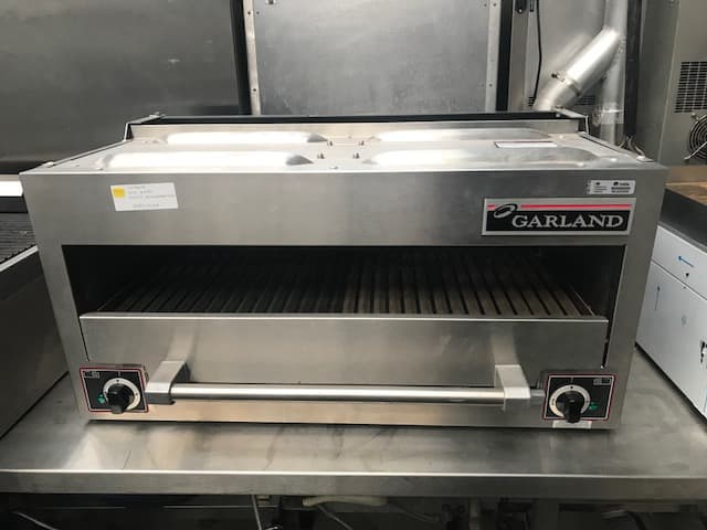 Garland Electric salamander grill