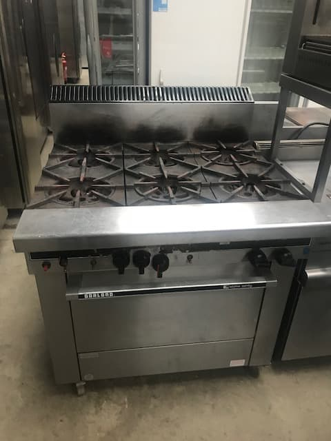 Garland 6 burner cooker