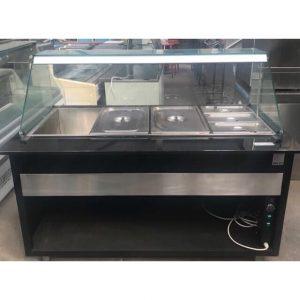 Igloo Heated Servery with glass surround
