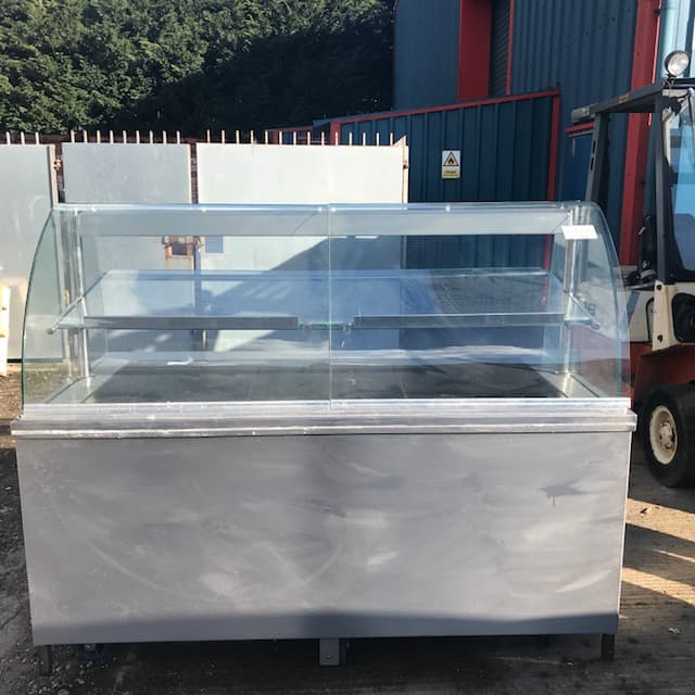 Aspull Catering Glass fronted heated service