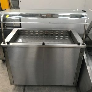 Moffat Mobile Servery counter with Bain Marie
