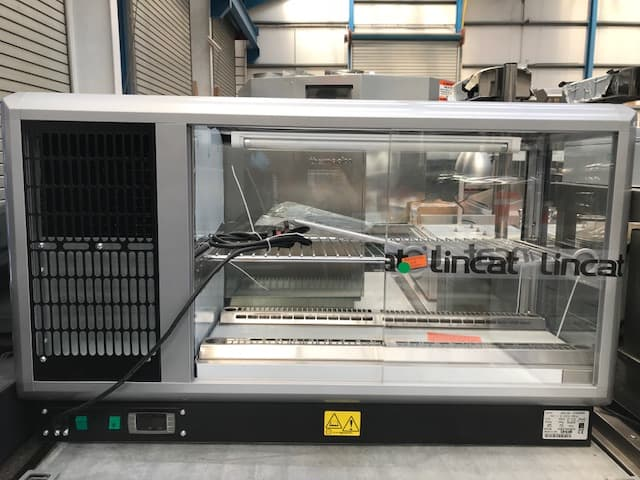 Lincat Chilled display cabinet glass fronted