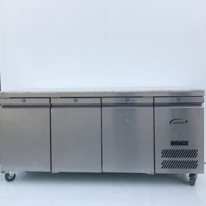 Williams 3 Door Freezer Counter With Marble Top