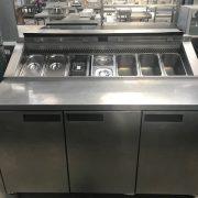 Williams 3 door prep counter with lid