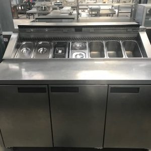 Williams 3 Door Prep Counter With Lid