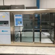 Tenfringo Glass Fronted Display Cabinet
