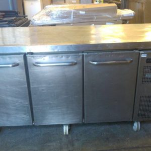 Gram 3 door chiller counter