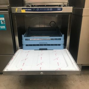 Blue Seal Undercounter Glasswasher 500 rack with inbuilt water softener