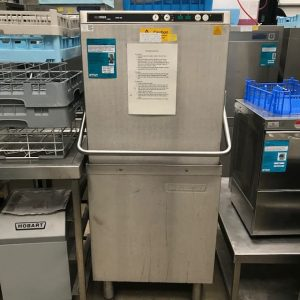 Hobart Ecomax Pass through dishwasher without inbuilt water softener