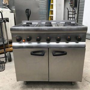 Lincat Silverlink 600 Natural Gas 6 Burner Range ill