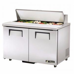 True Hydrocarbon Salad Prep Counter