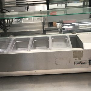 Gastroline Wide Refrigerated Topping Unit