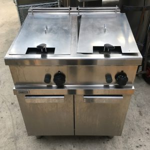 Zanussi Single Tank Twin Basket Fryer