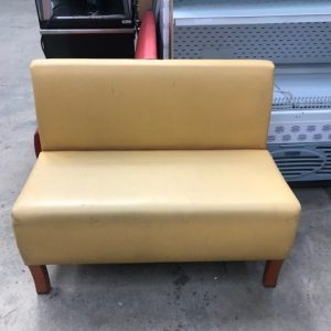 Yellow long  sofa chairs