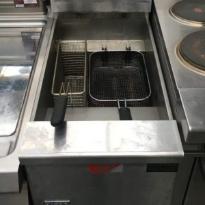 Pitco Free Standing Single Tank Natural Gas Fryer