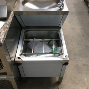 Prep sink and hand wash sink