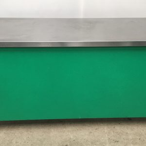 Green ambient stainless steel table