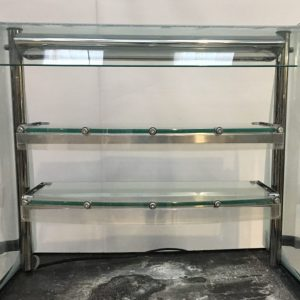 CED Fabrication Glass display unit MMG2