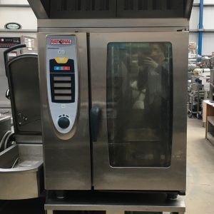 Rational 10 Grid (Self Cooking Centre) 101 Combi Oven with stand