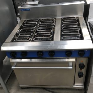 Blue Seal Evolution Electric 6 Element Oven Range