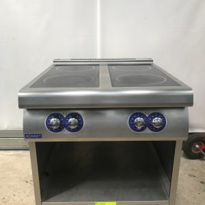 Bonnet 4 Ring induction hob