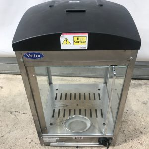 Victor Manually Rotating Heated Pizza Display Cabinet