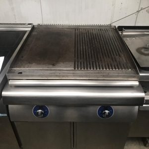 Bonnet Plancha Half Griddle/Half Flat Surface