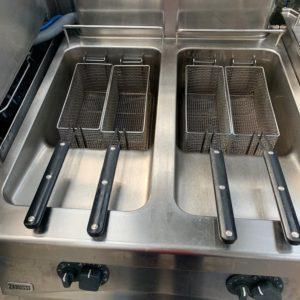 Zanussi Double Tank/Double basket Fryer