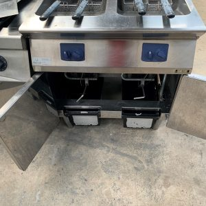 Electrolux Double Tank/Double basket Fryer