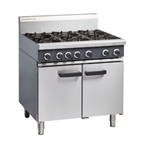 Blue Seal Six Gas Burner Gas range static oven