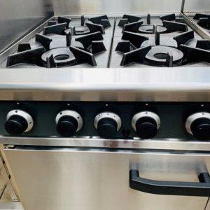 Blueseal 4 Burner Gas Static Oven