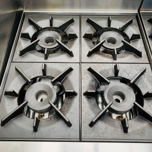 4 Burner Gas Static Oven