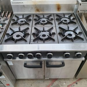 Blue Seal 6 Burner Gas