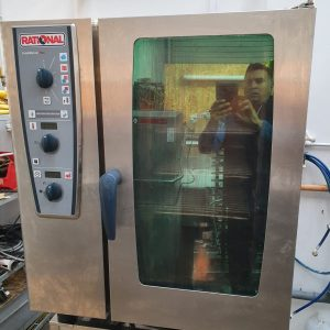 Rational 10 Grid Combi Electric Oven