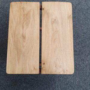 GA Real Oak furniture- Coffee table Low stool