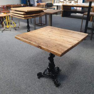 GA Real Oak furniture Café Table Rustic Style  - 2 Seater