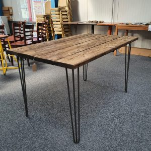 Café Table Rustic Style  - 4 Seater