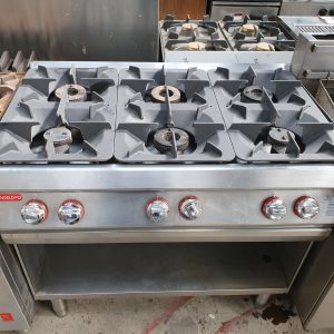Angelo Po 6 Burner Gas Range (Natural Gas)