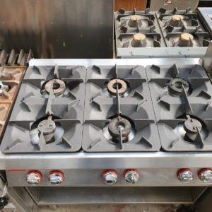 6 Burner Gas Range (Natural Gas)
