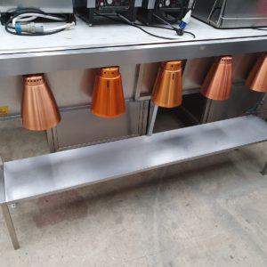 Hot Gantry Heated gantry with lights