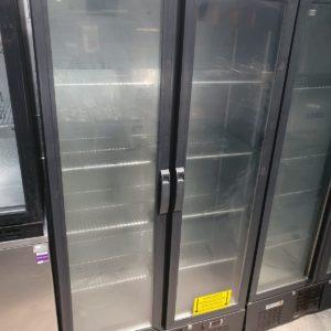 2 Door Upright Back Bar Chiller