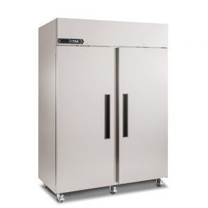 Foster Double door upright freezer